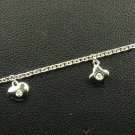 18K White Gold 0.11cts Diamond Bracelet