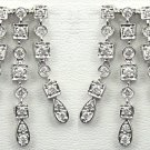 18K White Gold 1.14cts Diamond Earring