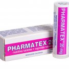 Local contraceptive Pharmatex 20mg - 12 vaginal tablets.