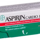 ASPIRIN CARDIO 100mg N98 Gastro Resistant tablets by Bayer