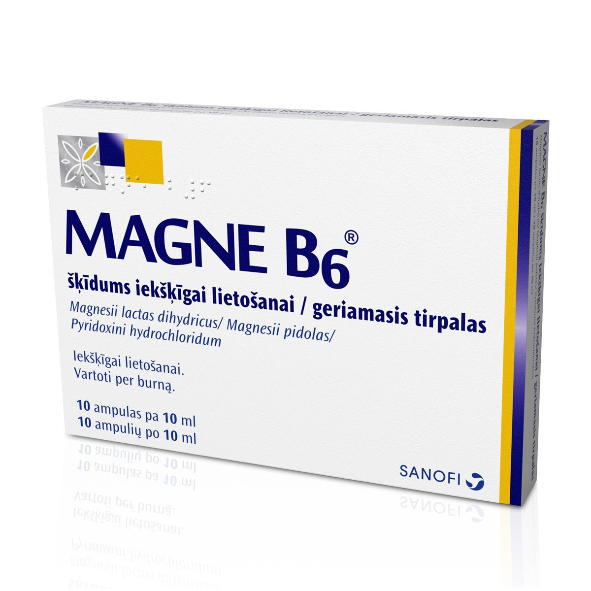 Magne B6 Solution in Ampules 10x10ml