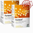 Powder FURASOL/Antibacterial, Treatment For Oral Cavity-Throat Infection. 2 boxes (10 sachets)