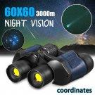 Binocular - 60X60 Zoom Day/Night Vision HD Binoculars Outdoor Hunting Travel Telescope+Case