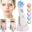 Women's Beauty - 5 Colors LED Photon Ultrasonic Ultrasound Lifting Skin Care Home Beauty