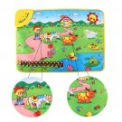 Musical Carpet Piano Keyboard Kids Play Music Mat Educational Touch Toy USA