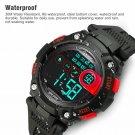 Red Child Boy Digital Watch Multifunction Sport Waterproof Electronic Watches