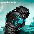Blue Child Boy Digital Watch Multifunction Sport Waterproof Electronic Watches