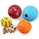 4pcs Pet Dog Interactive Tumbler Food Dispenser Feeder IQ Puzzle Treat Ball Toys