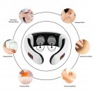 CorpTeo Electric Cervical Neck Pulse Massager Shoulder Muscle Body Relax Relieve Pain