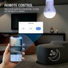 360° Panoramic Hidden Wifi Camera Light Bulb 1080P Security IR Cam Motion Detect