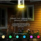 Smart Home Outdoor Indoor WiFi Door Light Torch 360 Security Camera