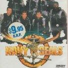 NAVY SEALS (1990) - VHS VIDEO - CHARLIE SHEEN
