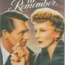 AN AFFAIR TO REMEMBER (1957) - VHS VIDEO - CARY GRANT - 40TH ANNIVERSARY!