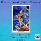 Print your letters yourself Tarot Deck Illuminated Tarot Majo more gift