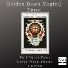 Print your letters yourself Tarot Deck Golden Dawn Magical more gift