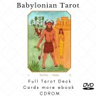 Print your letters yourself Tarot Deck Babylonian Tarot  more gift