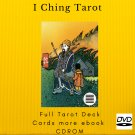 Print your letters yourself Tarot Deck I Ching Tarot more gift