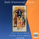 Print your letters yourself Tarot Deck Dali Universal Tarot more gift