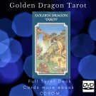 Print your letters yourself Tarot Deck Golden Dragon Tarot more gift