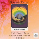 Print your letters yourself Tarot Deck Karma Tarot more gift