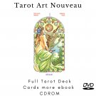 Print your letters yourself Tarot Deck Tarot Art Nouveau more gift