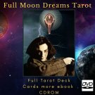 Print your letters yourself Tarot Deck Full Moon Dreams Tarot in CDROM more gift