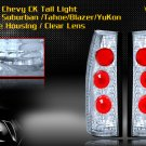 92-99 SUBURBAN/TAHOE/YOUKON ALTEZZA TAIL LIGHT CLEAR