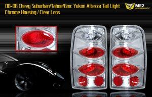 00-06 SUBURBAN/TAHOE/YUKON ALTEZZA TAIL LIGHT CHROME/CL