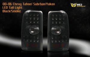 00-06 Chevy Tahoe/Suburban/Yukon LED TailLight BLACK