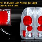 97-03 FORD F150 SIDE ALTEZZA TAIL LIGHT CHROME CLEAR