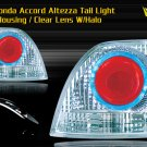 94-05 HONDA ACCORD ALTEZZA TAIL LIGHT HALO LED CHROME