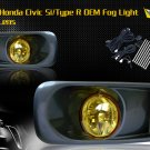 99-00 HONDA CIVIC SI/TYPE R JDM FOG LIGHT YELLOW
