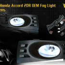 03-05 HONDA ACCORD 2DR JDM FOG LIGHT - CLEAR