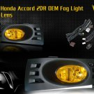 03-05 HONDA ACCORD 2DR COUPE JDM FOG LIGHT YELLOW
