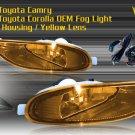 02-04 TOYOTA CAMRY / 05-06 COROLLA JDM FOG LIGHT YELLOW