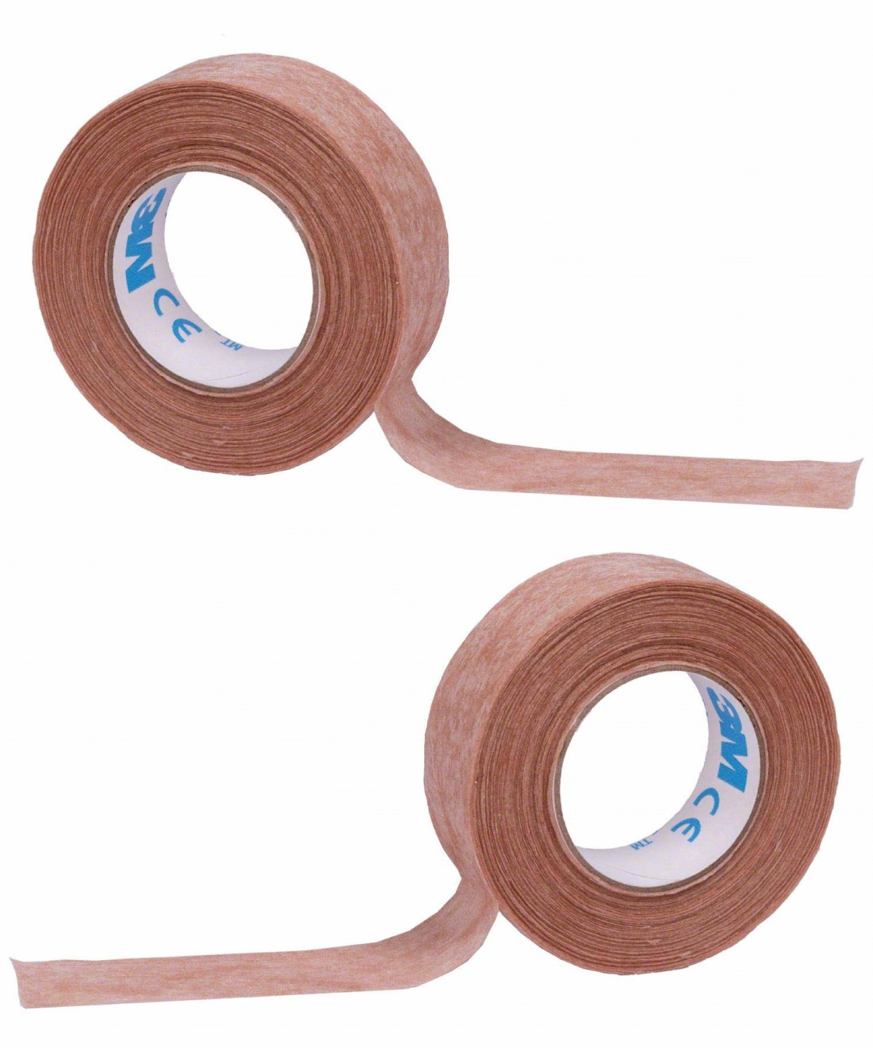 """3M Micropore Paper Surgical Tape Brown Tan 1/2"""" 0.5 inch wide, 10 Yards Length"""