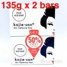 Kojie San Skin Lightening Soap - Kojic Acid Whitening & Bleaching, 135g x 2 bars