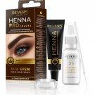 REVERS  Dark Brown Henna Eyebrows Colour Cream  HENNA PRO COLORS BIO FORMULA ARGAN OIL & CASTOR OIL