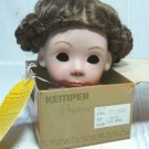 Kemper Doll Wig:  Marque Sz 7-8, in Light Brown, NIB