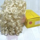 "Playhouse Doll Wig ""Heather"":  Sz 14-15 Pale Blonde and Curly, NIB"