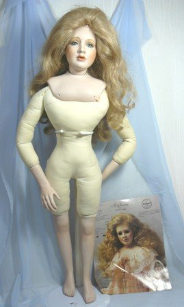 """Stephanie, Paulette Aprile, '91 Dolls Exc. Award Nominee, Compl. Doll, 28"""" Tall, Ready to Dress"""