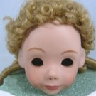 Blonde Monique Wig, Sz 8-9, Long Curls for Antique Reproduction Doll