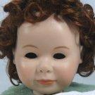 Auburn Tallina's Doll Wig:  Sz 14, All Over Curls for a Cute Doll