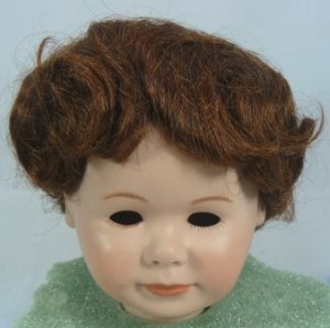 Tallina #959 Doll Wig:  Auburn, Sz 13, Smooth Style and Full