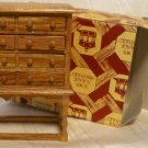 Blonde Wood Chest, Town Square MIniatures; Great Piece! Plenty of Drawers, Legs/Stretchers, NOS, NIB