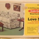 Realife Miniatures' Love Seat Kit; NOS, NIB, Cute Piece for You to Make