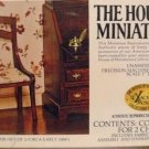 House of Miniatures' Kit:  Side Chairs/Set of 2, NOS, NIB, for You to Make