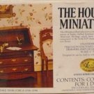 House of Miniatures' Kit:  Chippendale Desk, NOS, NIB, for You to Make