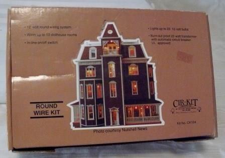 cir kit concepts 39 round wire kit nib nos complete. Black Bedroom Furniture Sets. Home Design Ideas