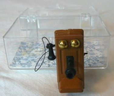 Chrysenbon Old-Fashioned Wall Phone, Movable Earpiece, NOS